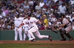 Nomar Garciaparra, les Red Sox de Boston Photo libre de droits