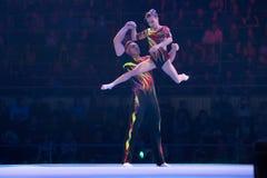 Nombre acrobatique image stock
