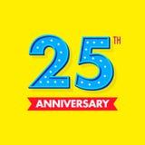 Nombre bleu gentil et de moderns pour des célébrations et des anniversaires Images libres de droits