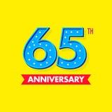 Nombre bleu gentil et de moderns pour des célébrations et des anniversaires Photos libres de droits