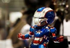 Nombre d'actions d'Ironman Image libre de droits