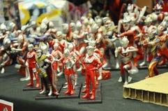 Nombre d'actions de caractère fictif de série populaire japonaise Ultraman image libre de droits