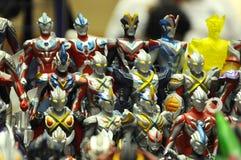 Nombre d'actions fictif célèbre d'Ultraman photographie stock