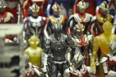 Nombre d'actions fictif célèbre d'Ultraman image stock