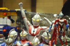 Nombre d'actions fictif célèbre d'Ultraman photos libres de droits