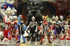 Nombre d'actions fictif célèbre d'Ultraman photos stock