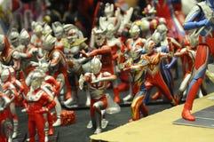 Nombre d'actions fictif célèbre d'Ultraman image libre de droits