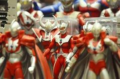 Nombre d'actions fictif célèbre d'Ultraman photographie stock libre de droits