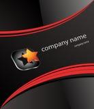 Nombre de compañía de la insignia Imagen de archivo libre de regalías