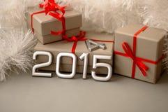 Nombre de concepts de l'année 2015 Images stock