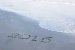 Nombre de l'année 2015 Image stock