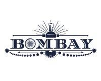 Nombre de la ciudad de Bombay libre illustration