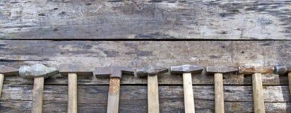 Nombre de marteaux Images stock