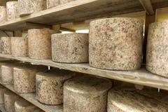 Nombre de processus 9 de production de fromage photographie stock