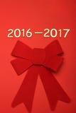Nombre en 2016-2017 Image stock