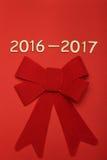 Nombre en 2016-2017 Image libre de droits