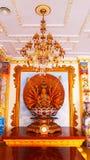 Nombre Guan Im de la escultura del Bodhisattva imágenes de archivo libres de regalías