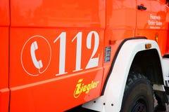 Nombre l'Europe de 112 téléphones d'urgence Photographie stock libre de droits