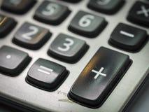 Nombre sur la calculatrice Photographie stock