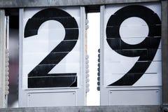 Nombres à deux chiffres Photo libre de droits