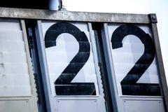 Nombres à deux chiffres Image libre de droits