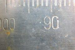 Nombres antiques d'échelles photos stock