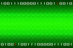 nombres binaires de matrice de fond Photos libres de droits