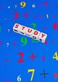Nombres d'étude Photos libres de droits