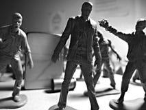 Nombres d'actions modèles de zombi de jouet Images libres de droits