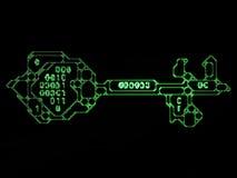 Nombres de code principal illustration libre de droits