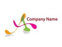 Nome di azienda Fotografia Stock Libera da Diritti