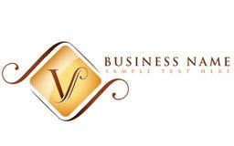 Nome di V_company illustrazione vettoriale