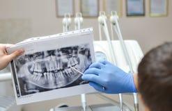 Nomeação dental Imagem de Stock Royalty Free
