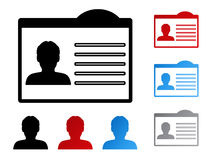 Nomeie a etiqueta para a identificação - ser humano, usuário, membro Fotos de Stock