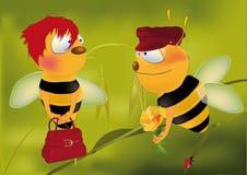nominacyjne pszczoły Obraz Royalty Free