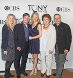 66th Annual Tony Awards Meet the Nominees Press Reception. 5 nominees, including 2 subsequent winners from the Broadway musical comedy, `Nice Work If You Can Get Royalty Free Stock Photo