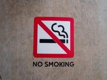 non курить знака стоковые изображения