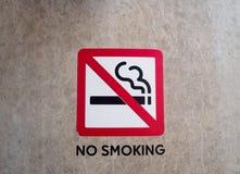 non курить знака стоковая фотография