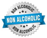 Non alcoholic badge Royalty Free Stock Image