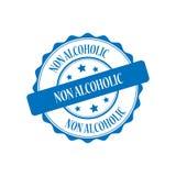 Non alcoholic stamp illustration Stock Photo
