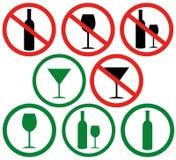 Non beva Fotografie Stock Libere da Diritti