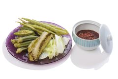 Non calories thai food Stock Images