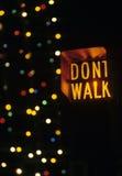 Non cammini Fotografia Stock Libera da Diritti