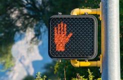 Non cammini! Fotografia Stock Libera da Diritti