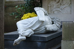 Non-Catholic Cemetery in Rome Stock Images