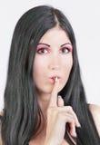 Non comunichi la malvagità Immagine Stock