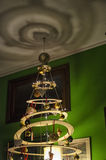Non-conformist and unusual Christmas tree. View of non-conformist and unusual Christmas tree Royalty Free Stock Image