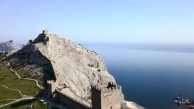 Non dimentichi i paesaggi della Crimea immagini stock libere da diritti