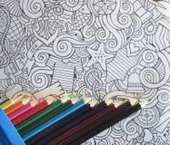 Non dipinga colorfull degli stres Fotografia Stock Libera da Diritti