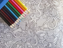 Non dipinga colorfull degli stres Fotografie Stock